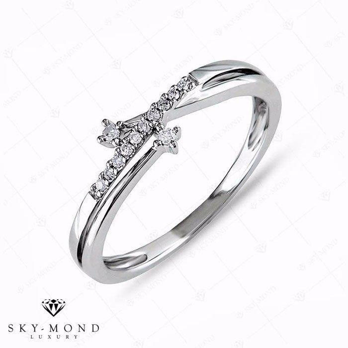 Nhẫn nữ bạch kim NNBK052