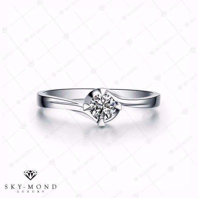 Nhẫn nữ bạch kim NNBK056