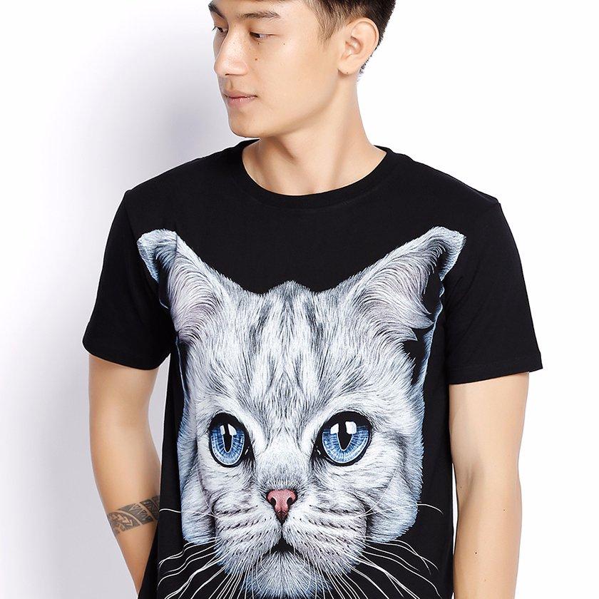 Áo Thun Thái Hình Mèo