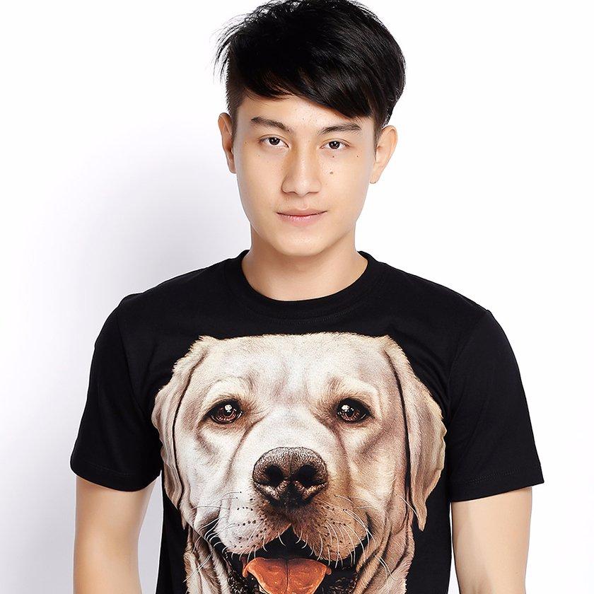 Áo Thun Thái Hình Chó