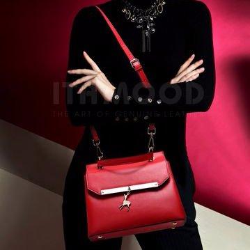 Túi xách nữ công sở,quai đeo chéo,chất da bò.